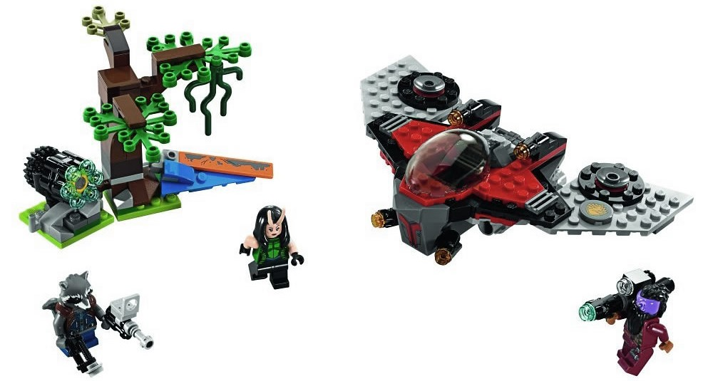 LEGO Marvel Super Heroes 76079 - Ravager Attack