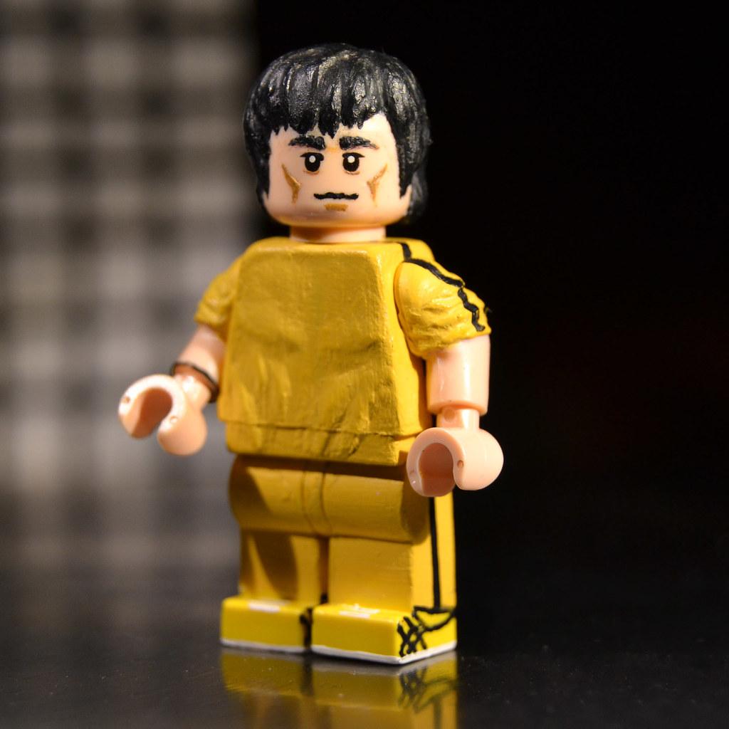 Custom Lego Bruce Lee Game Of Death Custom Lego Bruce
