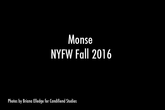 NYFW FW 2016 | Monse