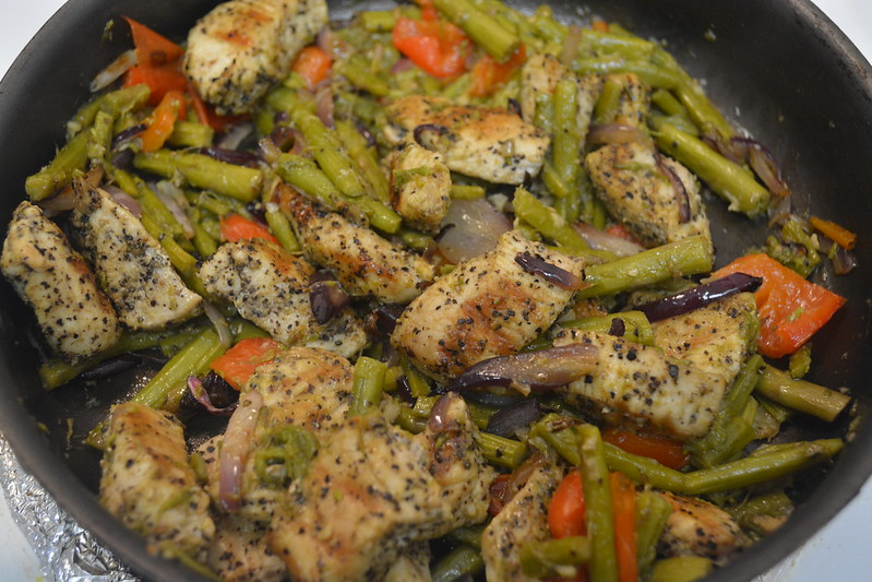 Asparagus and Grilled Chicken Recipe
