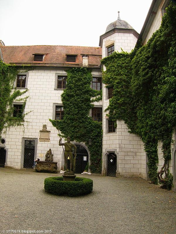 Wasserschloss Mitwitz innen