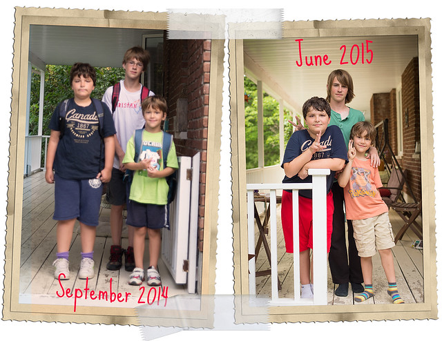 First and last day of school!