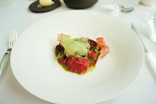 Foie Gras Sautéed with Rhubarb