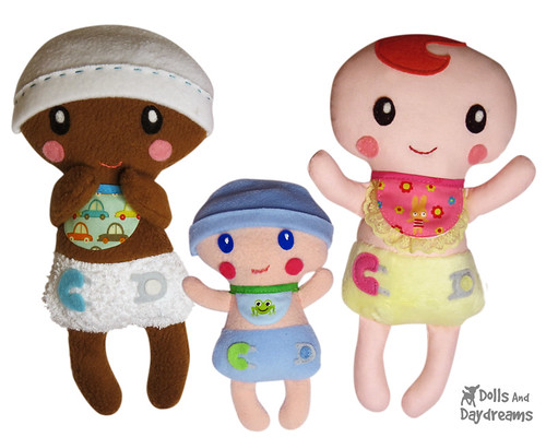 Bitty Bubs Baby Sewing Pattern