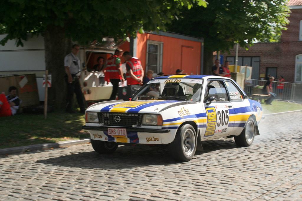 Ypres Historic Rally Jimmy McRae Opel Ascona   Sebastiaan Claus   Flickr
