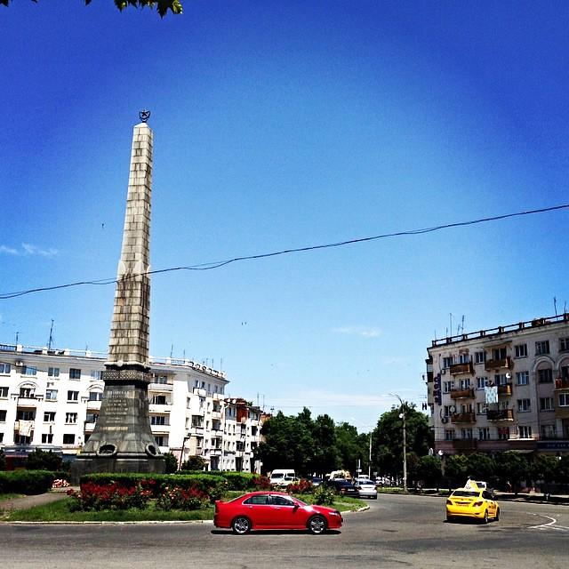 Владикавказ. Китайская площадь