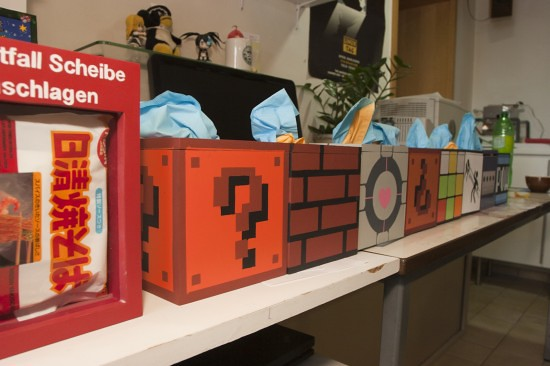 Gaming & retro tissue boxes by kanojo
