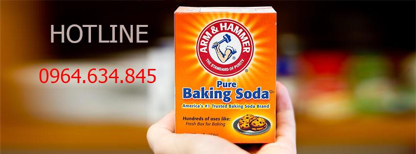 Địa Chỉ Mua Baking Soda Chính Hãng - 40k/hộp - Có Tem Công Ty