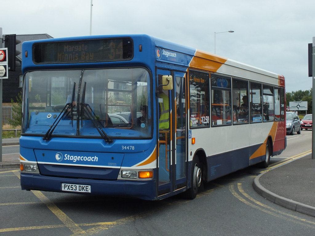 ... Stagecoach in East Kent (TH) 34478 PX53DKE   by alexf33305