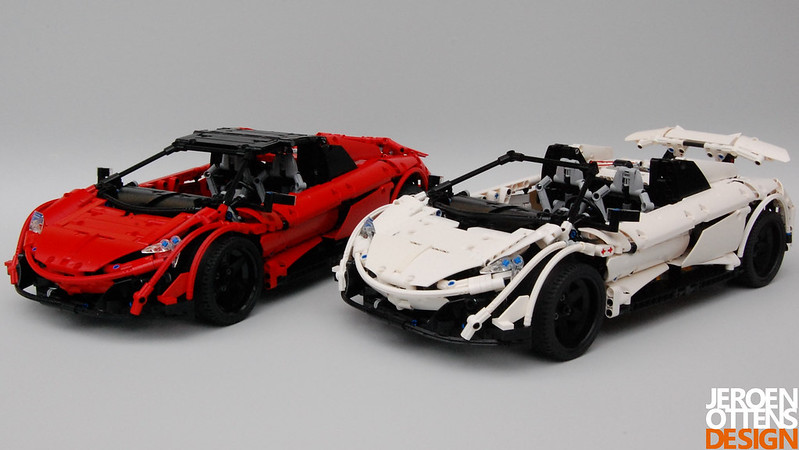Moc Mclaren 675 Lt Spider Lego Technic And Model Team