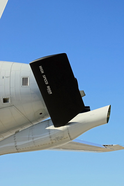 KC-767 87-3601 空中給油ブーム