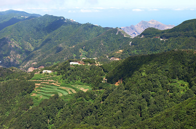 View from Casa Carlos, Anaga, Tenerife