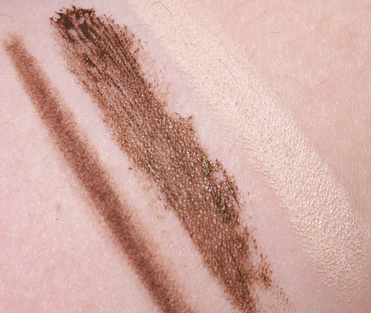 maybelline brow precise swatches