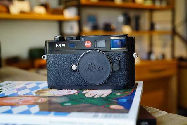 Leica M9 Black Paint (Le0100)