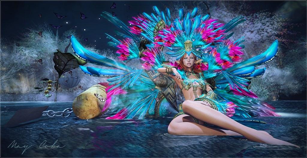 Mariposa de carnaval