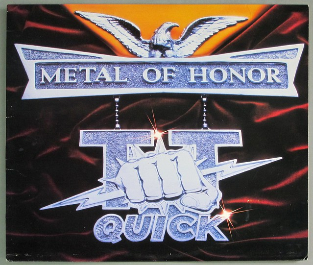 "T.T. QUICK METAL OF HONOR 12"" LP VINYL"
