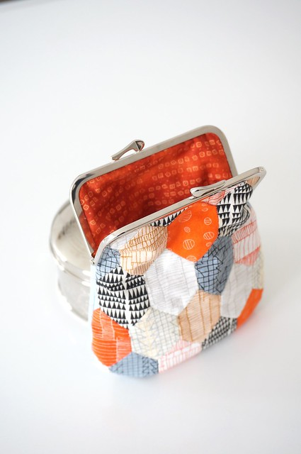 English paper piecing pouch