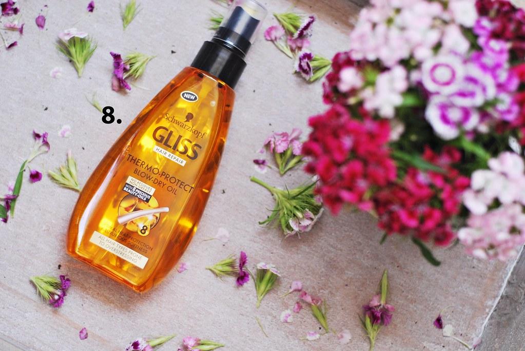 Gliss Protect Blow Dry ulje za kosu za zaštitu kose pre feniranja