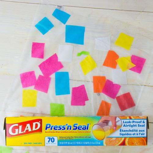 Tissue Paper Suncatcher