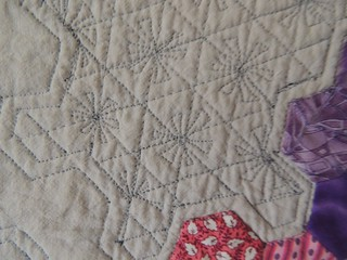 Cogs - Quilting Detail