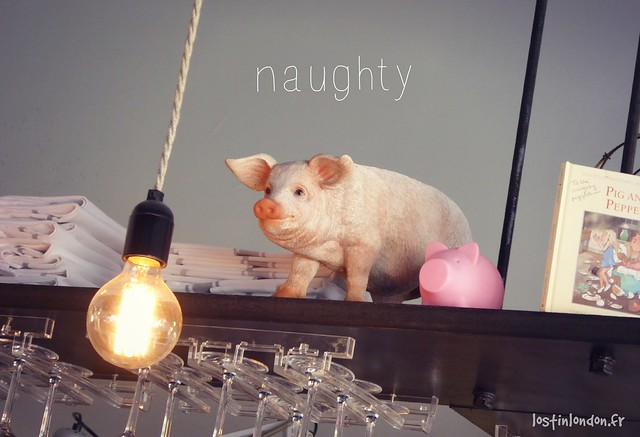 naughty piglets restaurant Brixton London Londres
