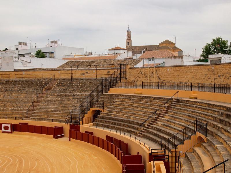 Bullring in Osuna, Spain
