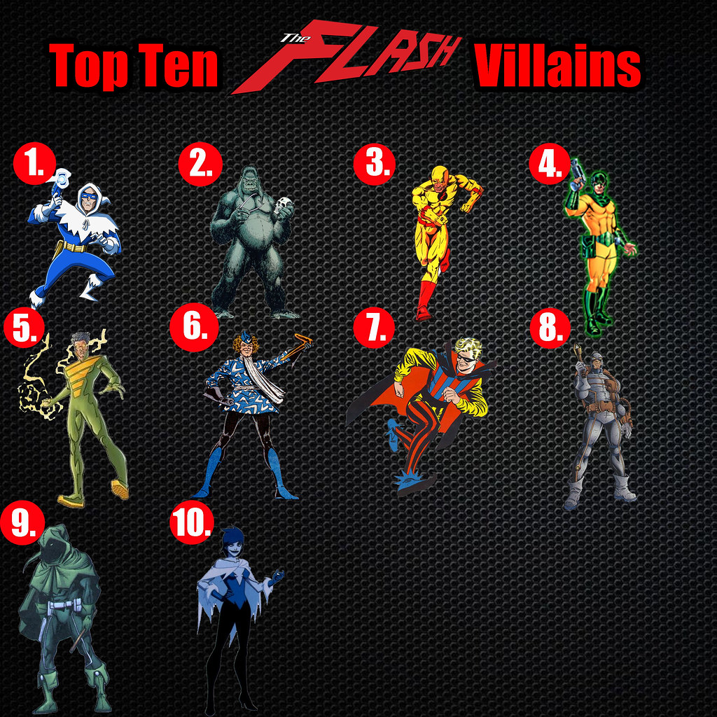 ... Top Ten Flash Villains - by AntMan3001