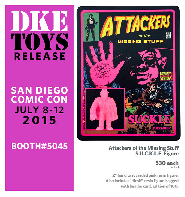 Attackers of the Missing Stuff S.U.C.K.L.E. figure