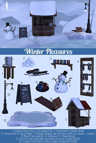 Winter Pleasures Gacha