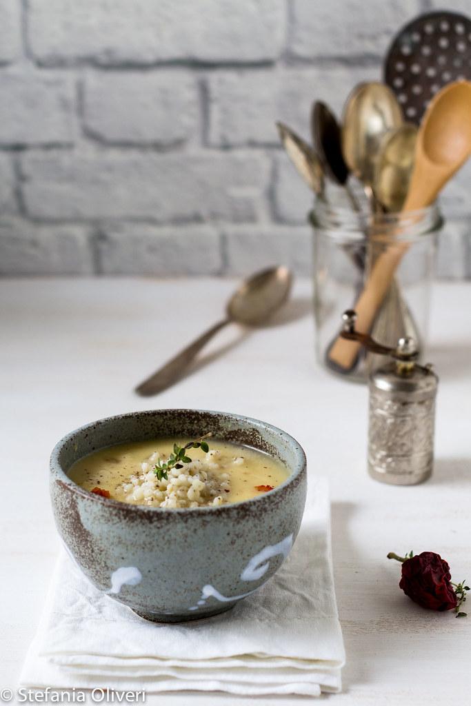 zuppa di sorgo e lenticchie rosse 7226