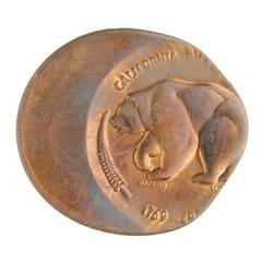 Off center California medal obverse