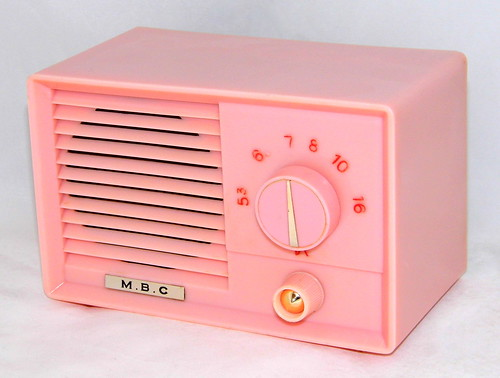 Vintage Mbc Table Radio, No Model Number, Am Band, A Ve -7217