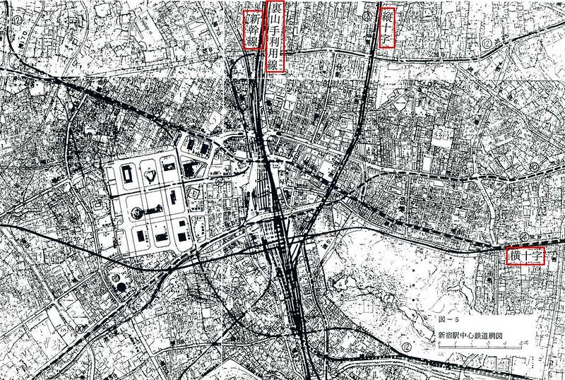 大新宿構想時代の上越新幹線新宿駅地下ホーム (4)