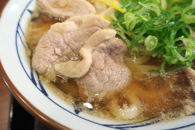 丸亀製麺 鴨ねぎうどん_02
