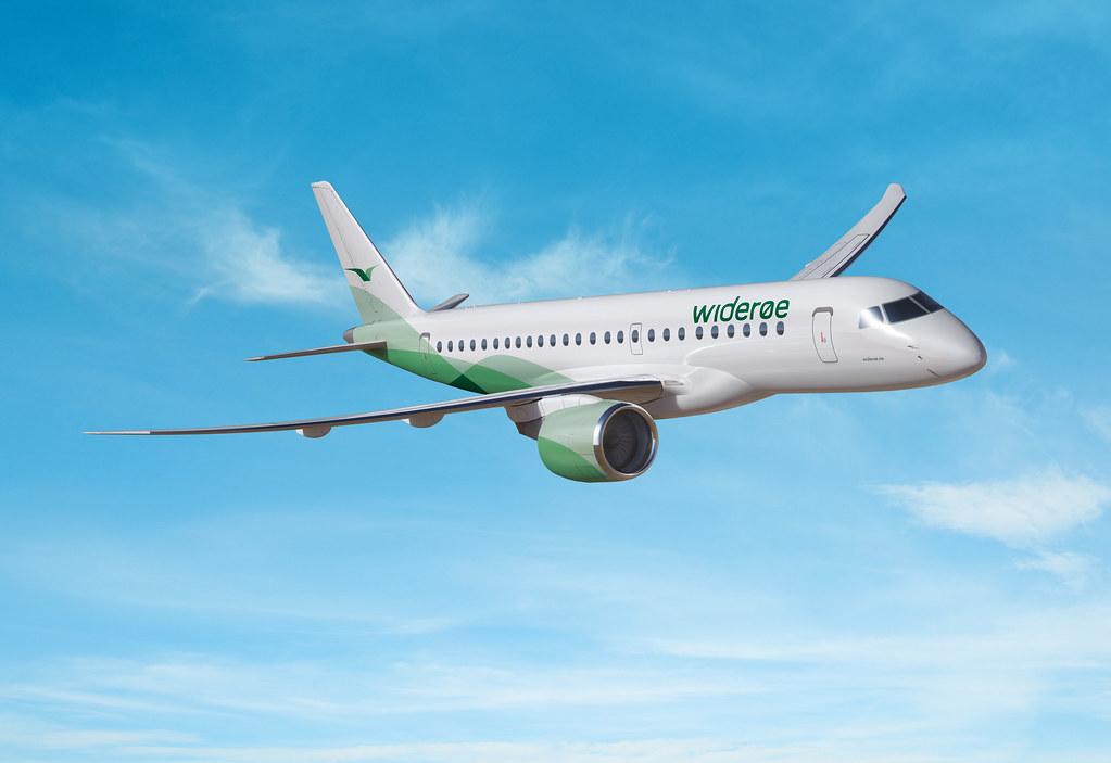 A Wideroe lesz az Embraer E190-E2 indító légitársasága