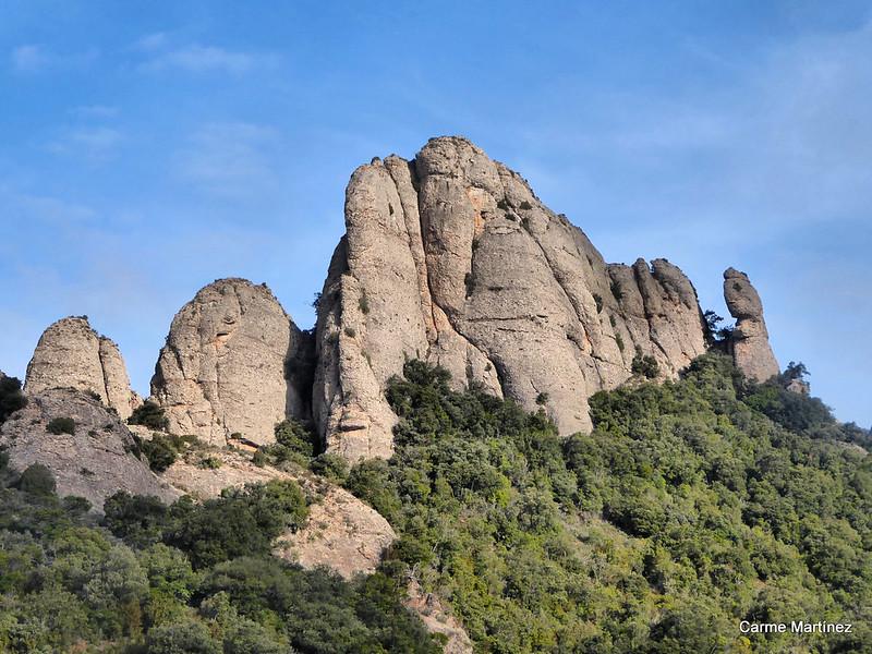 Montserrat. Pollegons i Magdalenes