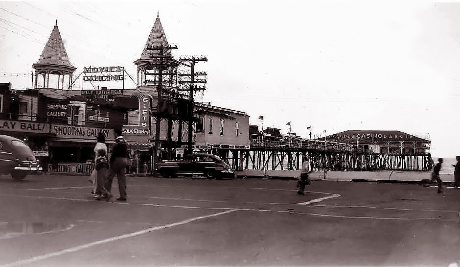 Old Orchard Beach Maine About 1950 Quot The Car On The