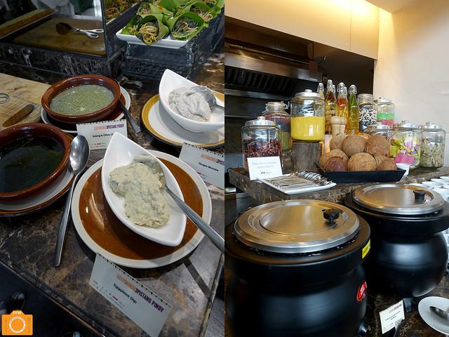 Luzviminda dips and soups