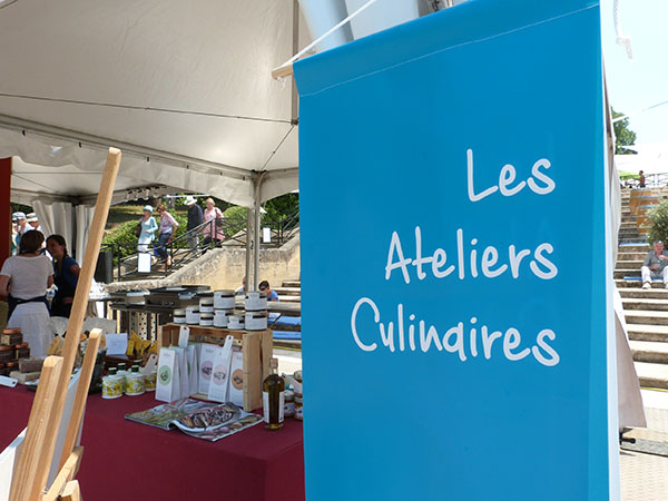 les ateliers culinaires