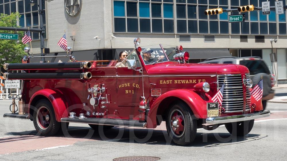 1941 East Newark Fire Truck New Jersey 2015 Antique