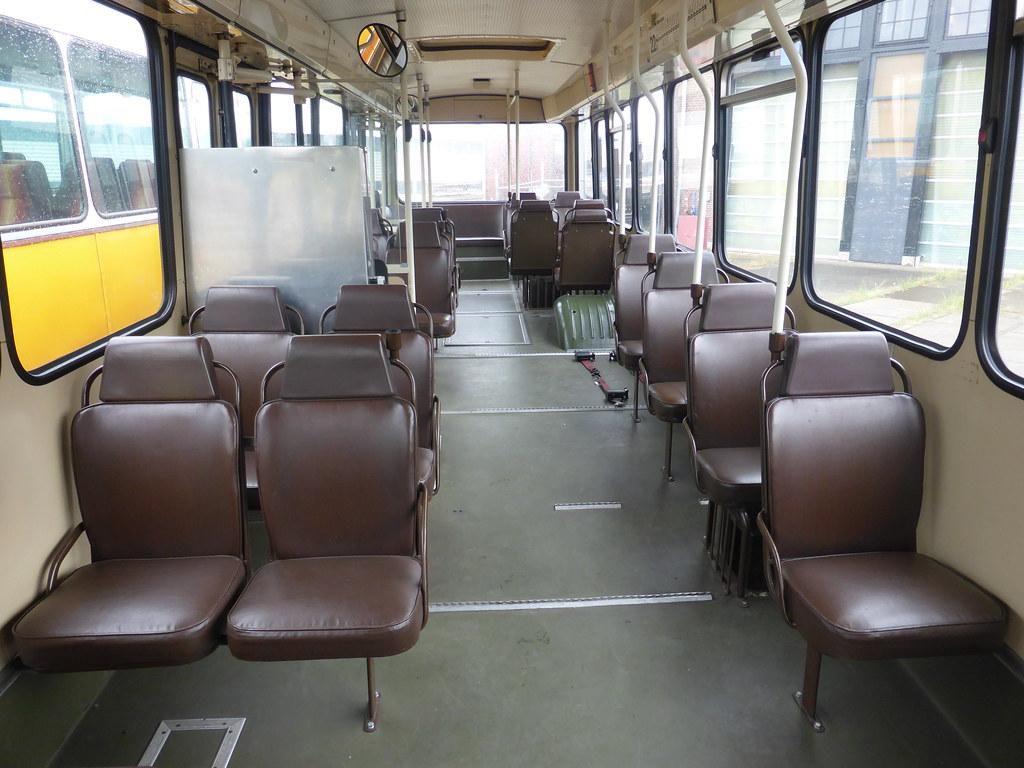 Interieur Hanje/Daf stadsbus | Tot in de jaren 90 een bekend… | Flickr