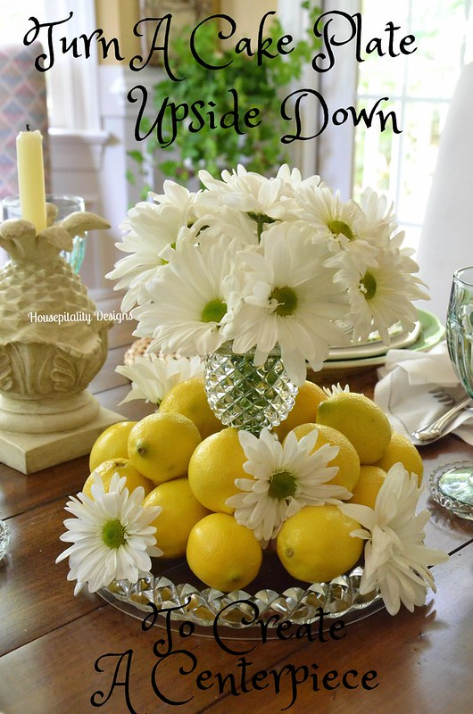 Cake Plate Centerpiece-Housepitality Designs