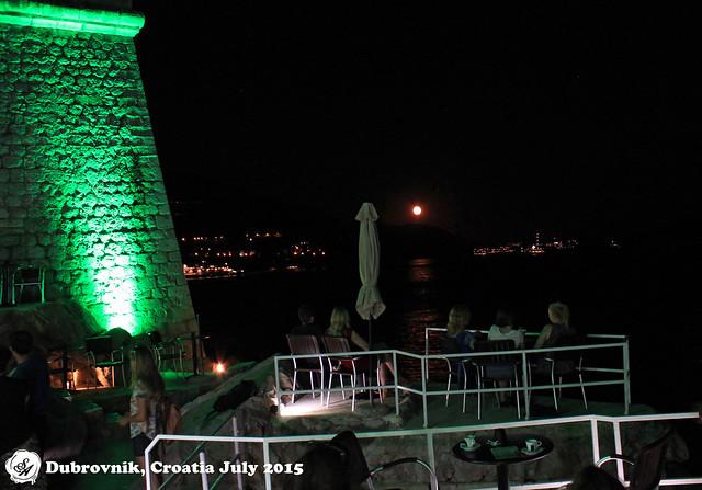 moon rising over Buza Bar