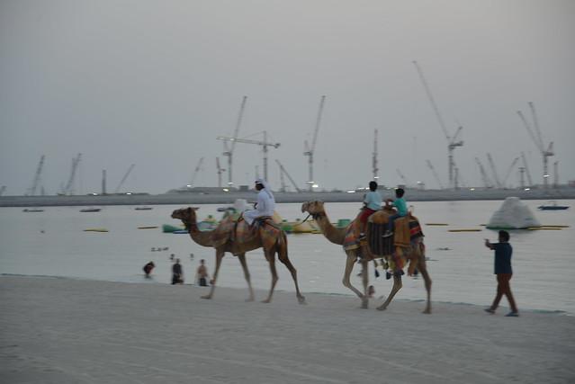 Dubai 2015 Summer Ramadan Marina Beach