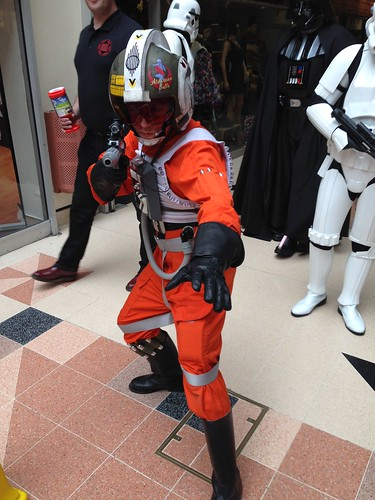 Preston Comic-Con 2015 - Star Wars Rebel Pilot