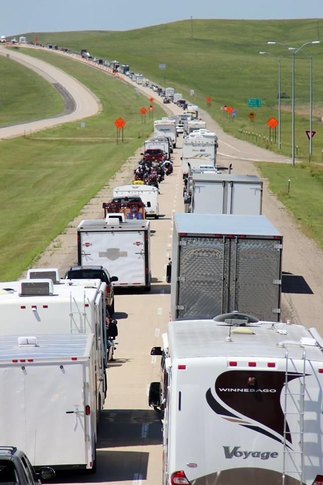 Shot 1: Traffic on Westbound I-90 at Murdo SD, 07 31 15 | Flickr