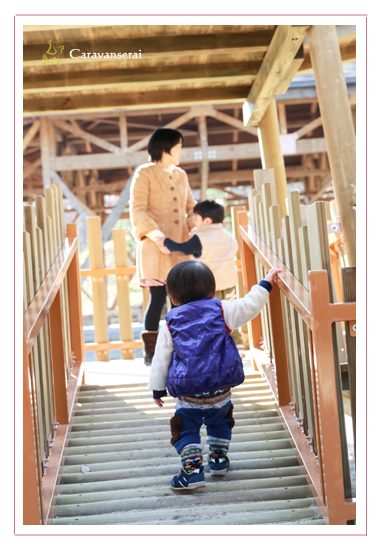 土岐市(岐阜県) 新築住宅  陶史の森 年賀状用 家族写真 和風住宅写真 キッズフォト 子供写真 自然な 全データ