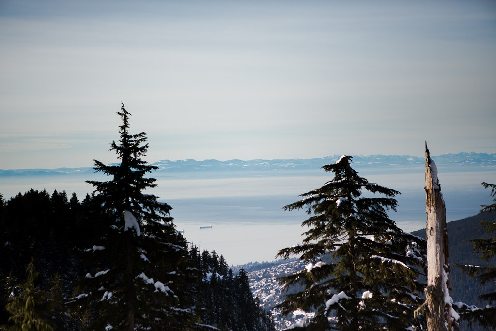 Grouse Mountain Peak of Christmas