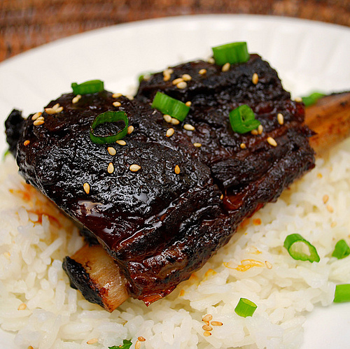 Whats cookin chicago instant pot korean style short ribs korean short rib or galbikalbi usually involves flanked short ribs i used the english cut short rib instead but either could be used in this recipe forumfinder Images