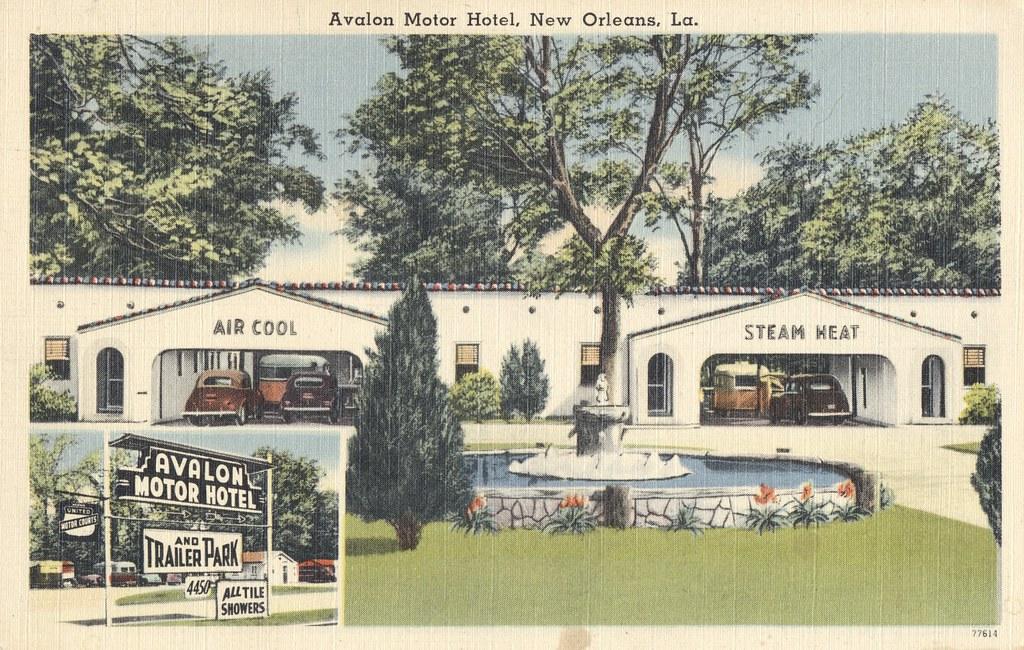 Avalon Motor Hotel - New Orleans, Louisiana